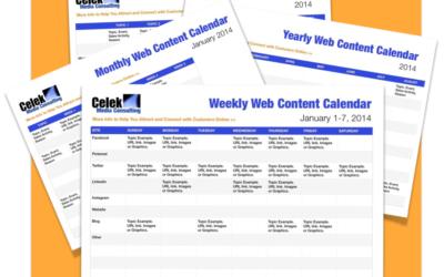 Content Calendar promo combo